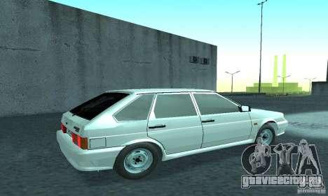 VAZ-2114 для GTA San Andreas вид справа