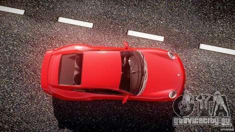 Porsche 911 Turbo V3 (final) для GTA 4 вид сбоку
