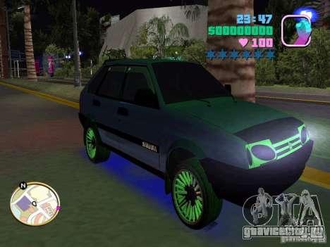 ВАЗ 2109 Samara для GTA Vice City вид справа