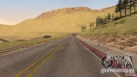New HQ Roads для GTA San Andreas десятый скриншот