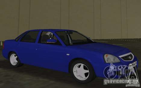 Lada 2170 Priora для GTA Vice City