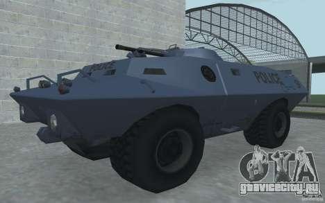 Swatvan с пулемётом для GTA San Andreas второй скриншот