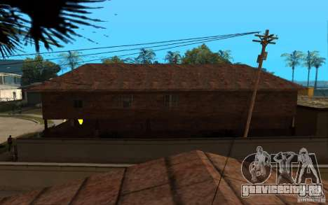 S.T.A.L.K.E.R House для GTA San Andreas третий скриншот