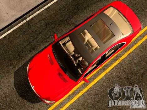 Mercedes-Benz S65 AMG 2007 для GTA San Andreas вид сзади
