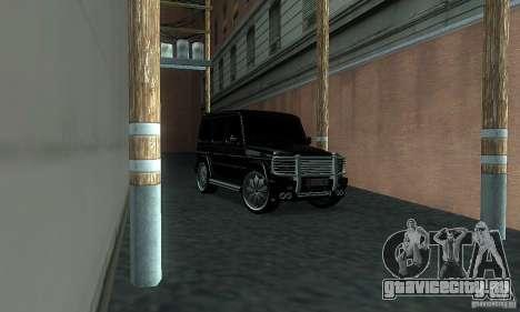 Mercedes Benz G500 ART FBI для GTA San Andreas вид справа
