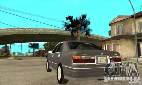 Toyota Crown Majesta S170 для GTA San Andreas вид сбоку