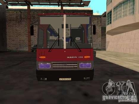 Ikarus 255 для GTA San Andreas