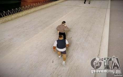 Прохожие разговаривают по телефону для GTA San Andreas третий скриншот