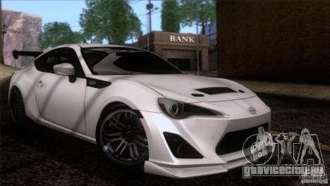 Scion FR-S 2013 для GTA San Andreas