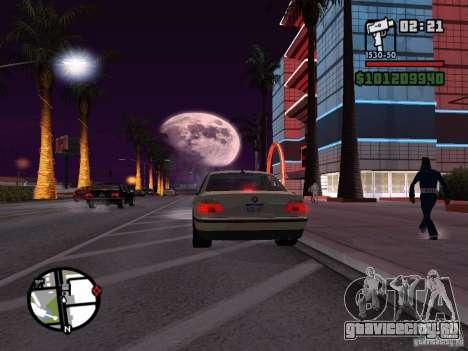 BMW 750i (e38) для GTA San Andreas вид слева