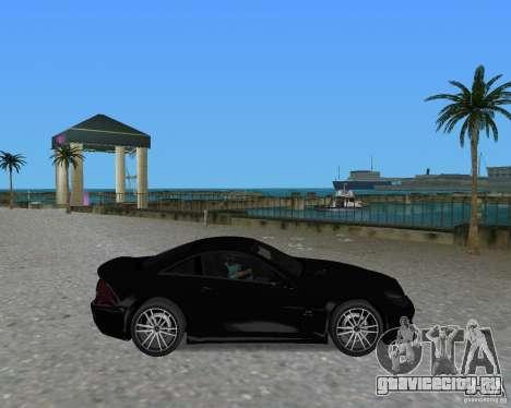 Mercedess Benz SL 65 AMG Black Series для GTA Vice City вид справа