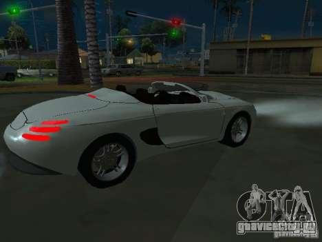 Ford Mustang 1993 для GTA San Andreas вид справа