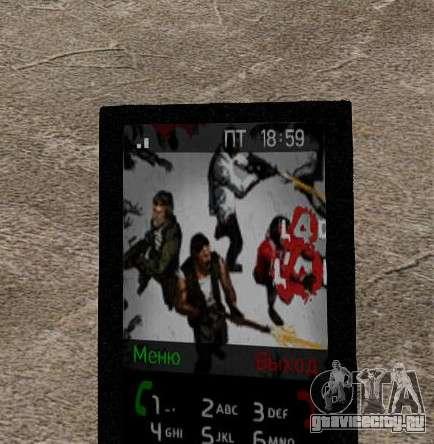 Новые темы для телефона для GTA 4 одинадцатый скриншот