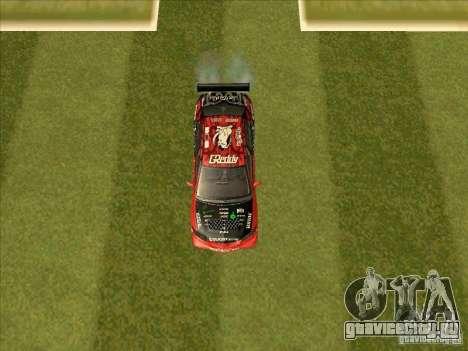 Mitsubishi Evo 9 Touge Union для GTA San Andreas вид изнутри