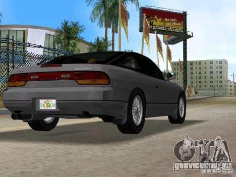 Nissan 200SX для GTA Vice City вид сзади слева