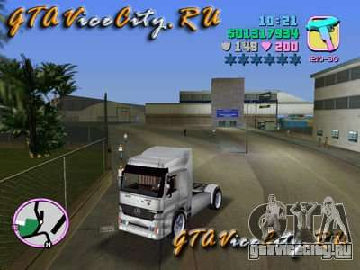 Mercedes-Benz Actros для GTA Vice City