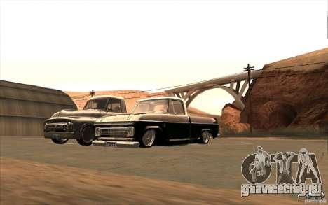 Chevrolet C-10 Fixxa для GTA San Andreas вид сбоку