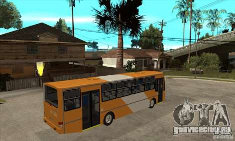 CAIO Alpha Mercedes-Benz OH-142051 skin Zona C для GTA San Andreas вид справа