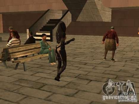 Girls from ME 3 для GTA San Andreas седьмой скриншот