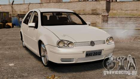 Volkswagen Golf Flash Edit для GTA 4