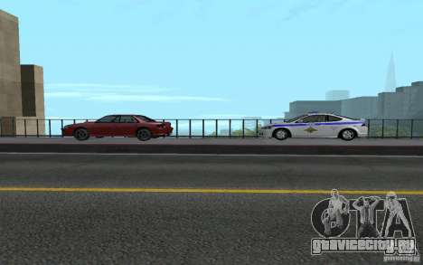 Police на мосту Сан-Фиеро_v.2 для GTA San Andreas шестой скриншот