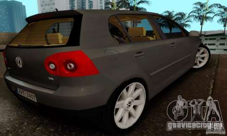 Volkswagen Golf 5 TDI для GTA San Andreas вид слева