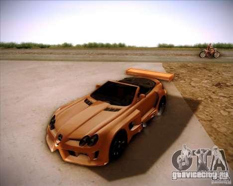 Mercedes-Benz SLR-Mclaren 722 Cabrio Tuned для GTA San Andreas