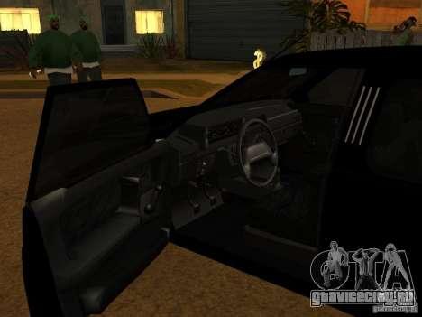 ВАЗ 21099 Лимузин для GTA San Andreas вид справа