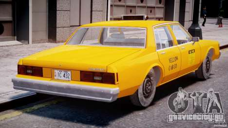 Chevrolet Impala Taxi 1983 [Final] для GTA 4 вид справа