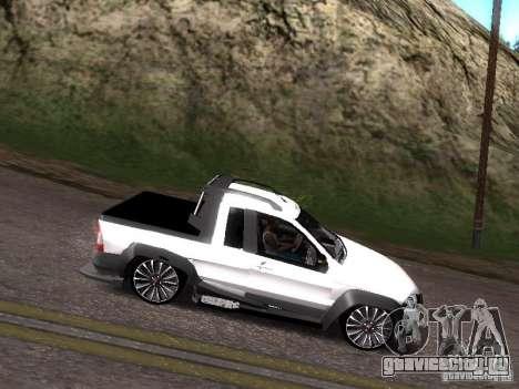Fiat Strada для GTA San Andreas вид справа