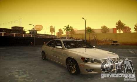 Lexus IS 300 для GTA San Andreas вид слева