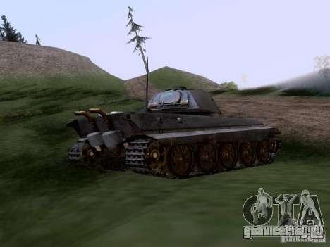 Pz VII Tiger II VIB Королевский Тигр для GTA San Andreas вид сзади слева