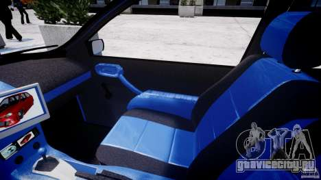 Chevrolet Corsa Extreme Revolution для GTA 4 вид сзади