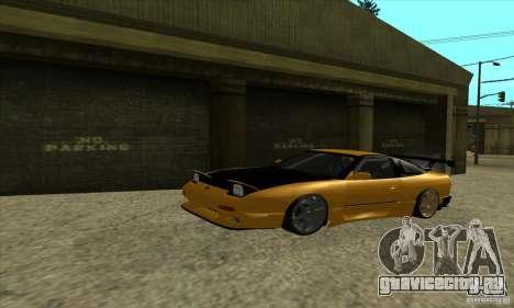 Nissan 240SX Drift Tuning для GTA San Andreas вид слева