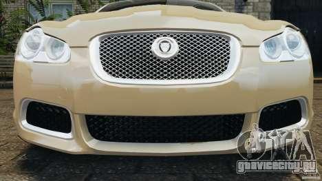 Jaguar XFR 2010 v2.0 для GTA 4 двигатель