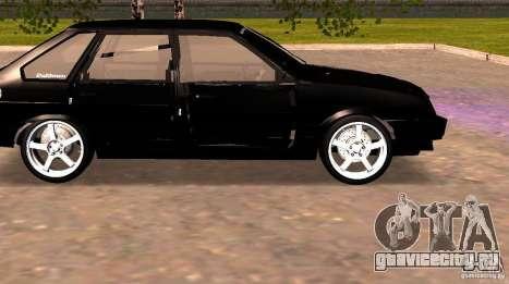 Ваз 2109 Centre Side v2.0 для GTA San Andreas вид слева