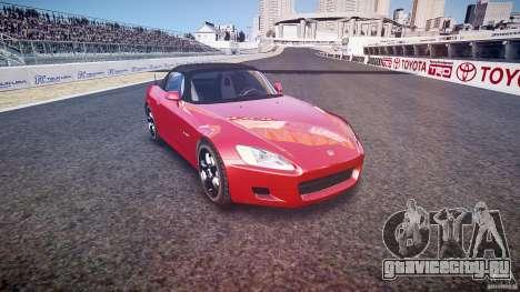 Honda S2000 v2 2002 для отжигов для GTA 4