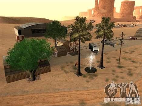 Новые объекты для аэропорта в пустыне для GTA San Andreas