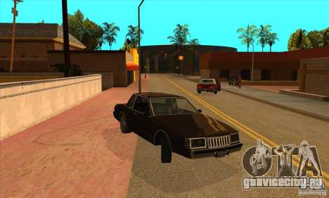 God car mod для GTA San Andreas третий скриншот