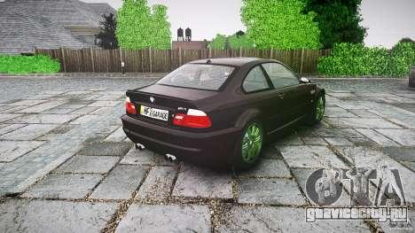 BMW M3 e46 2005 для GTA 4 вид сбоку