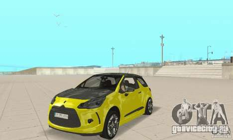 Citroen Ds3 Sport 2011 для GTA San Andreas