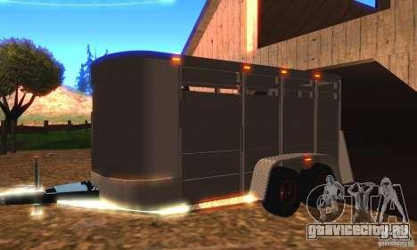 Трейлер к Chevrolet Silverado 2012 для GTA San Andreas