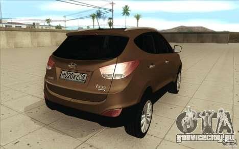 Hyundai ix35 для GTA San Andreas вид сбоку