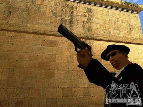 Desert Eagle MW3 для GTA San Andreas шестой скриншот