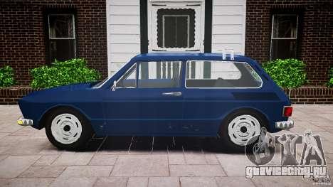 Volkswagen Brasilia для GTA 4 вид сзади