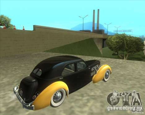 1937 Cord 812 Charged Beverly Sedan для GTA San Andreas