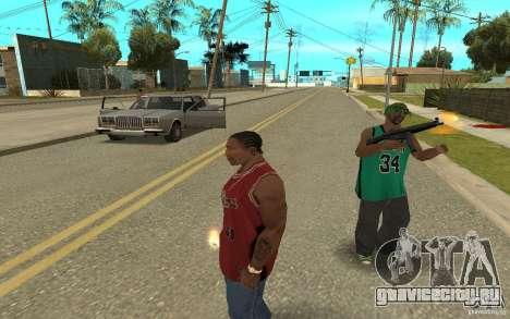 Grove Street Skin Pack для GTA San Andreas седьмой скриншот