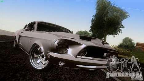 Shelby GT500 1969 для GTA San Andreas вид сбоку