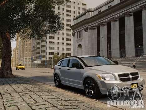 Dodge Caliber для GTA 4 вид сзади слева
