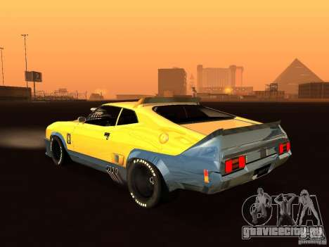 Ford Falcon XB Coupe Interceptor для GTA San Andreas вид сзади слева